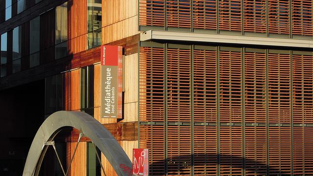 La médiathèque de Toulouse